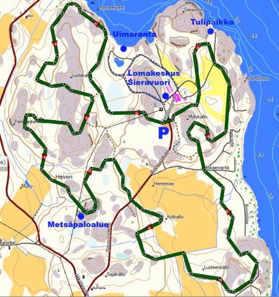 sieravuoren-ulkoilureitti-kartta